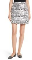 Ted Baker Women's Bobie Landscape Jacquard Miniskirt