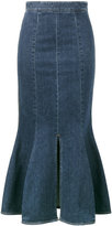 Stella McCartney Ivy denim midi skirt - women - Cotton/Spandex/Elastane - 38