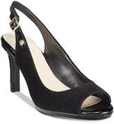 Giani Bernini Blankaa Slingback Heels, Only at Macy's