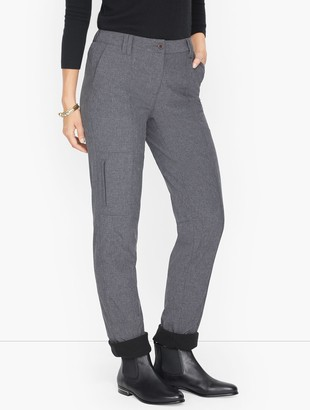 Talbots Fleece Lined Pants - Melange