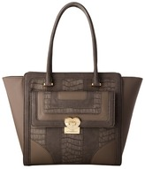 Love Moschino Snake Embossed Tote Tote Handbags