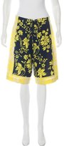 A.L.C. Silk Tailored Shorts
