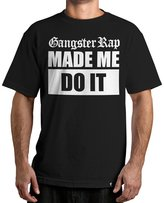 Famous Stars & Straps Men's Gangster Rap SS T Shirt Black 3XL