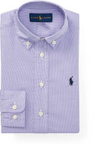 Ralph Lauren 2-7 Houndstooth Cotton Dress Shirt