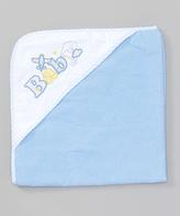 SpaSilk Blue 'Baby' Hooded Towel