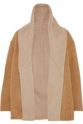 Vince Reversible Wool-blend Felt Jacket