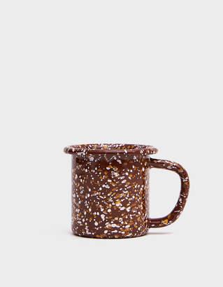 Hay Design Enamel Mug in Sprinkle Brown