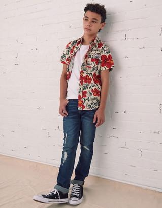 RSQ Tokyo Super Skinny Ripped Boys Dark Vintage Jeans