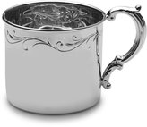 Empire Floral Sterling Baby Cup