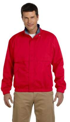 D & Jones Men's Pima Piqu Short-Sleeve Y-Collar Polo
