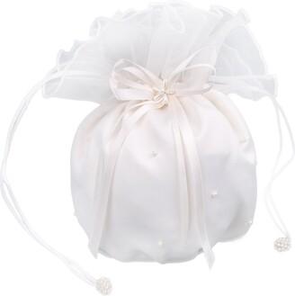 Flora Satin & Organza Bridal Dolly Bag/Bridesmaid Handbag