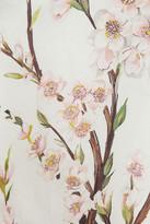 Dolce & Gabbana Almond blossom-print silk-organza top