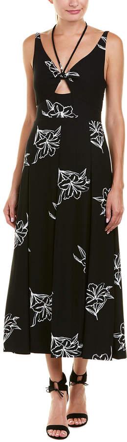 Derek Lam 10 Crosby Pleated Maxi Dress
