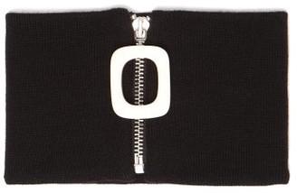J.W.Anderson Merino Wool Neckband - Black