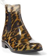 Ralph Lauren Tally Leopard PVC Rain Boot