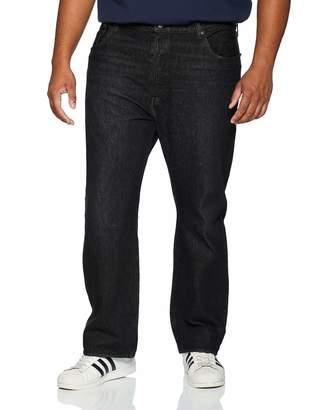 Levi's Men's 501 Button Fly B&t Straight Straight Jeans Air Black Warp 0076 40W/38L