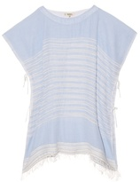 Lemlem Alma open-weave stripe top