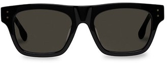 Le Specs Luxe Motif 52MM Modern Rectangle Sunglasses