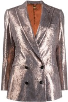 Maurizio Miri Oversized Fit Sequin Embroidered Blazer