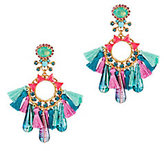 Elizabeth Cole Multi Tassel Earrings