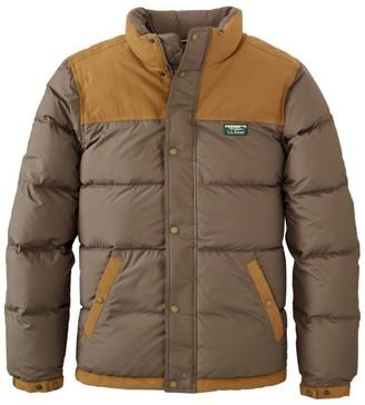 L.L. Bean Men's Mountain Classic Down Jacket, Colorblock