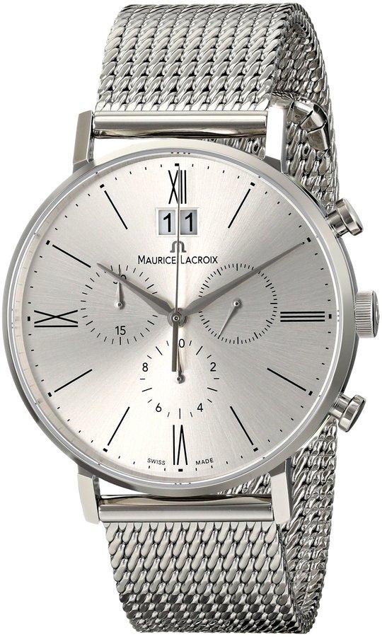 Maurice Lacroix Men's EL1088-SS002-110 Eliros Analog Display Quartz Watch