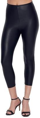 Commando Perfect Control Faux Leather Capri Leggings