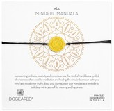 Dogeared Women's The Mindful Mandala Bracelet