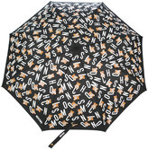Moschino letter print umbrella - unisex - Polyester - One Size