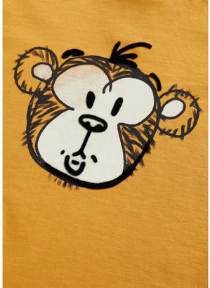 MANGO Baby Boys Monkey Print T-shirt