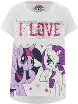 M&Co My Little Pony two way sequin print t-shirt