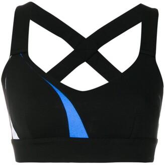 NO KA 'OI No Ka' Oi stripe detail sports bra
