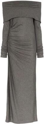 Ninety Percent off-the-shoulder maxi dress