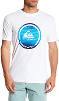 Quiksilver Reactive Check Regular Fit Tee