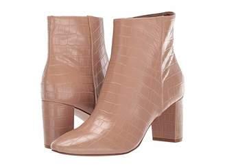 Nine West Trin Bootie (Black Suede) Women's Shoes
