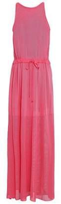 Emilio Pucci Pointelle-knit Maxi Dress