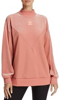 adidas Velvet-Detail Sweater