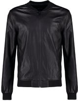 Only & Sons Faux Leather Jacket Black