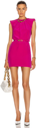 Versace Sleeveless Mini Dress in Fuchsia | FWRD