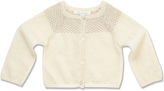 Marie Chantal Baby GirlCashmere Gold Intarsia Cardigan