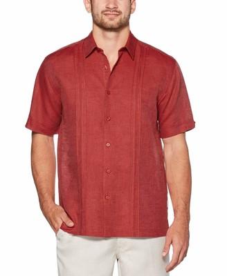 Cubavera Linen-Cotton Detailed Shirt