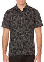 Perry Ellis Geometric Printed Woven Shirt