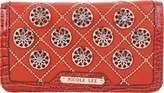Nicole Lee Women's Chrissy Floral Quilted Wallet - Dusty Orange Small Handbags