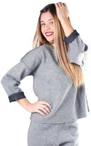 Moncler Woman Sweater Grey