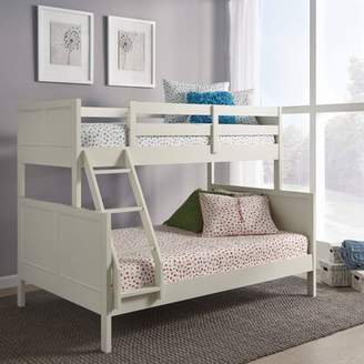 Off-White Home Styles Twin Over Full Naples Bunk Bed