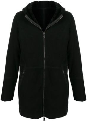 Giorgio Brato Lined Hooded Coat