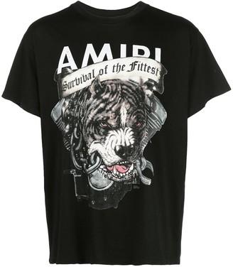 Amiri graphic print T-shirt