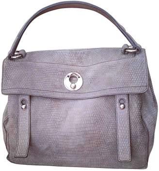 Saint Laurent Muse Two Khaki Suede Handbags