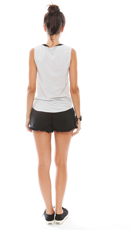 Chaser NYC Muscle Tee in Grey