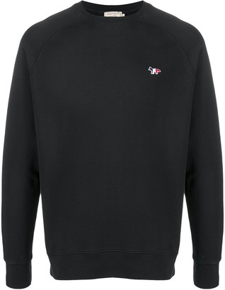 MAISON KITSUNÉ Fox patch sweatshirt